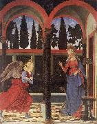 BALDOVINETTI, Alessio Annunciation vgga oil painting